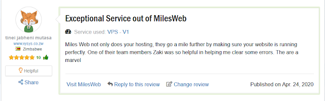 Milesweb Managed AWS Cloud Hosting