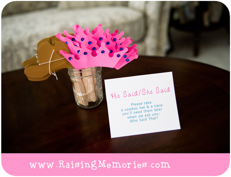 DIY Bridal Shower Party Games