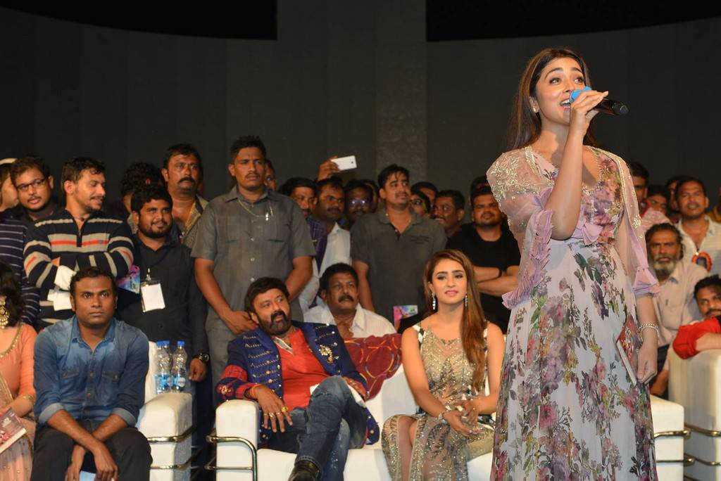 Shriya              Saran Stills At Paisa Vasool Movie Audio Launch