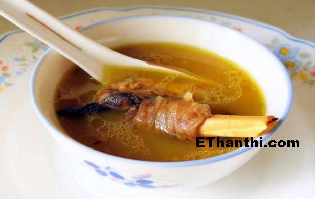 உடலுக்கு வலிமைக்கு எலும்பு சூப் செய்முறை / Mutton Bone Soup Recipe!