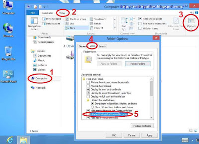 Change file Extension in Windows 8