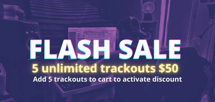 5 trackouts $50