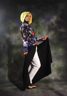 Foto model Hijab Hiab manis di Makassar hijab manis