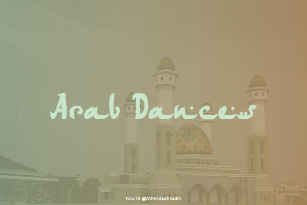 Font arab dances ttf