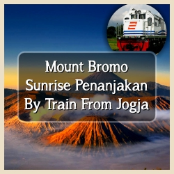Bromo Sunrise By Train