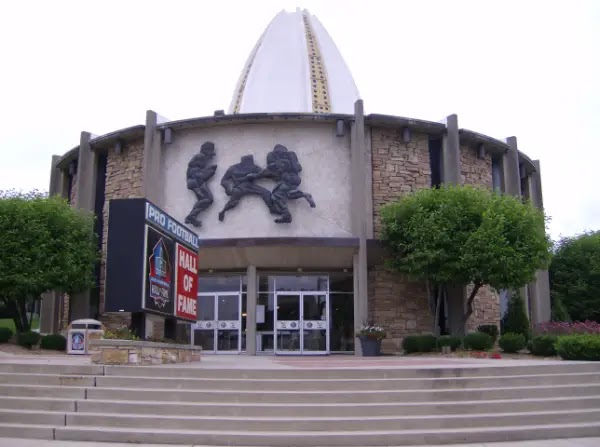 things to do in Canton Ohio : Pro Football Hall of Fame