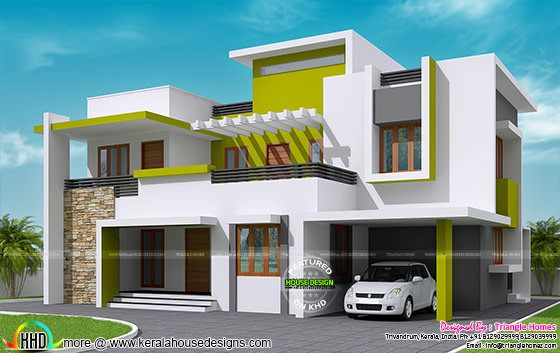 Pleasant February 2016 Kerala Home Design And Floor Plans Largest Home Design Picture Inspirations Pitcheantrous