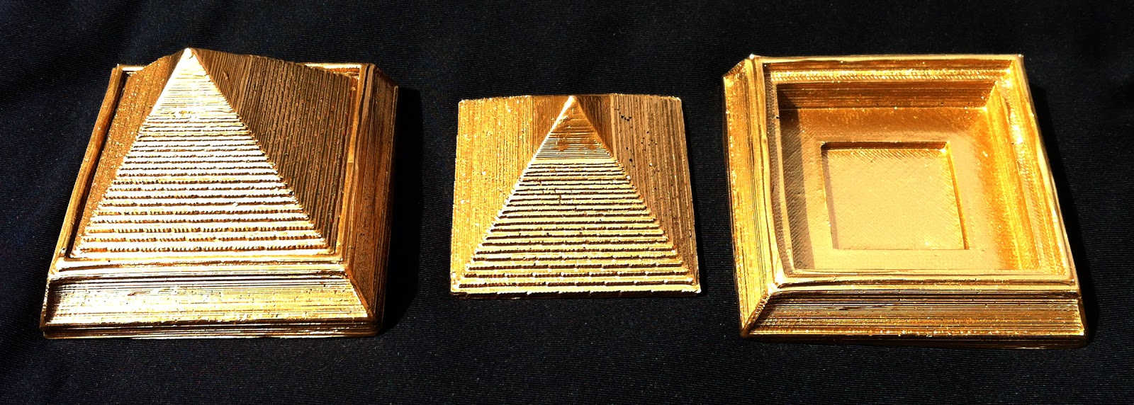 Pyramid keepers top and bottom