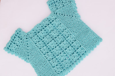 2 - Crochet Imagen Blusa de verano a crochet y ganchillo por Majovel Crochet