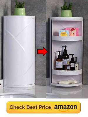 Best Storage Corner for Kitchen | 360 Rotating Cabinet