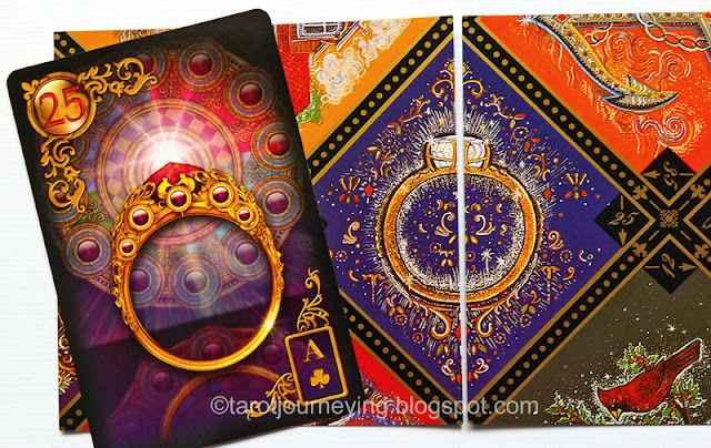 lenormand and russian gypsy fortune telling card comparison