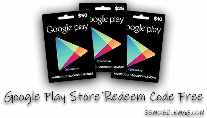 Google Play Store Redeem Code Free 2021 - January (200 ...