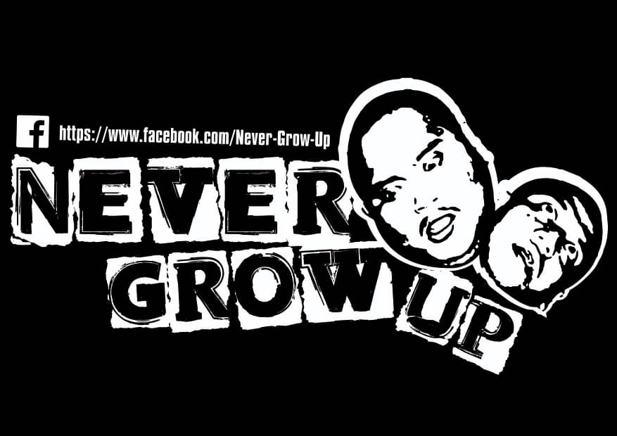 Giveaway Never Grow Up