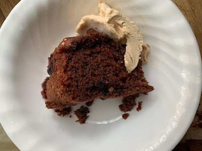 Gluten Free Choclate Peanut Butter Marshmallow Cake Slice