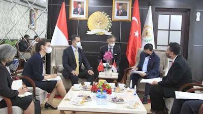 Pimpinan DPD RI Puji Erdogan dan Berharap Negosiasi IT CEPA Dapat Segera Terealisasi