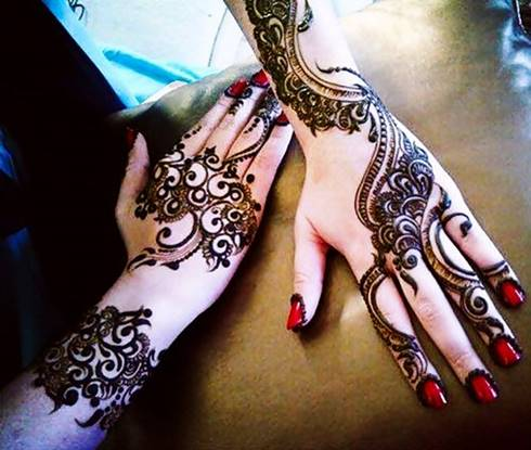 Mehndi Designs Hands