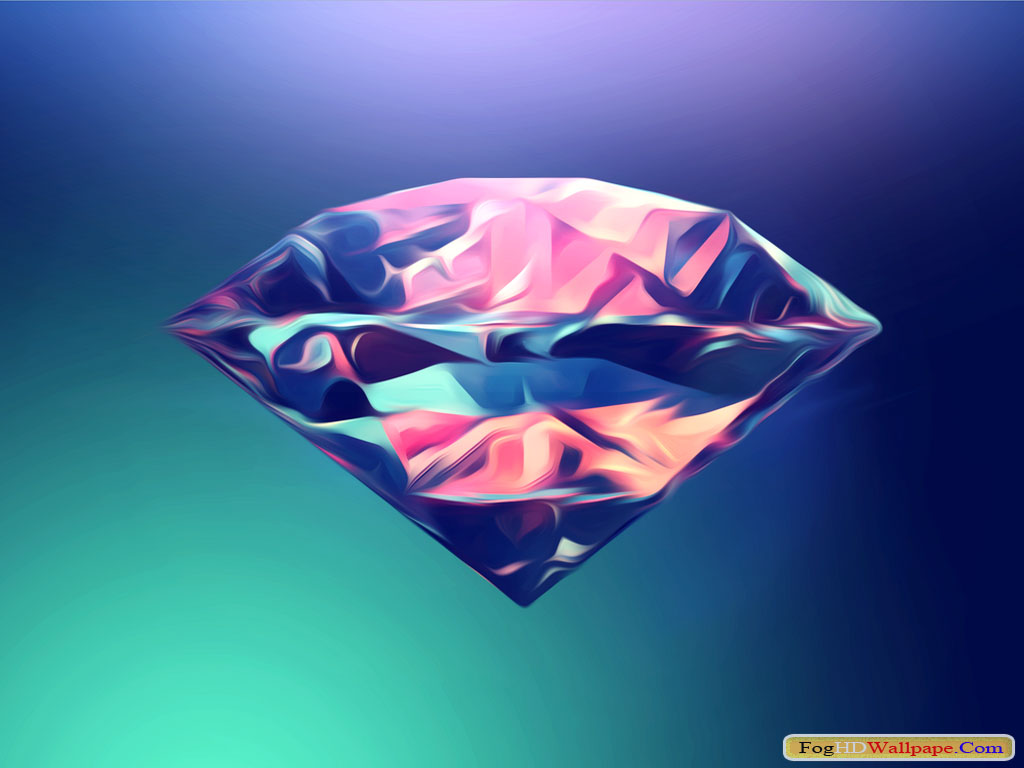 Abstract Diamonds Pictures Fog Hd Wallpaper