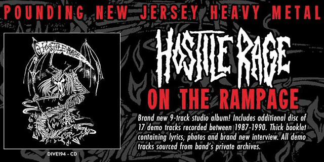 """Το διαφημιστικό του δίσκου των Hostile Rage """"On The Rampage"""""""