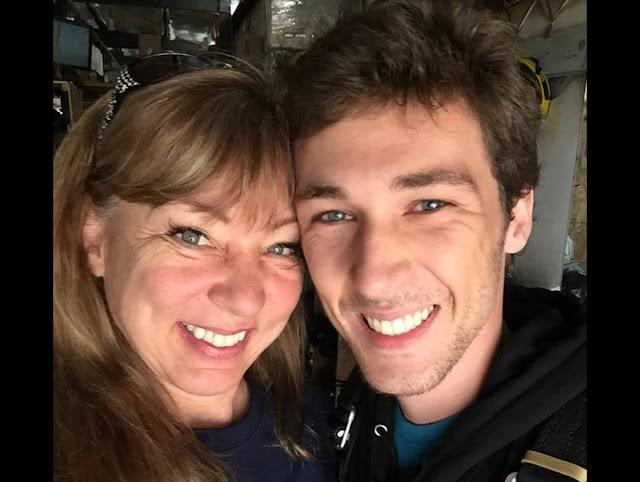 Родители сняли весёлое видео с погибшим сыном за минуты до того, как его парашют не раскрылся