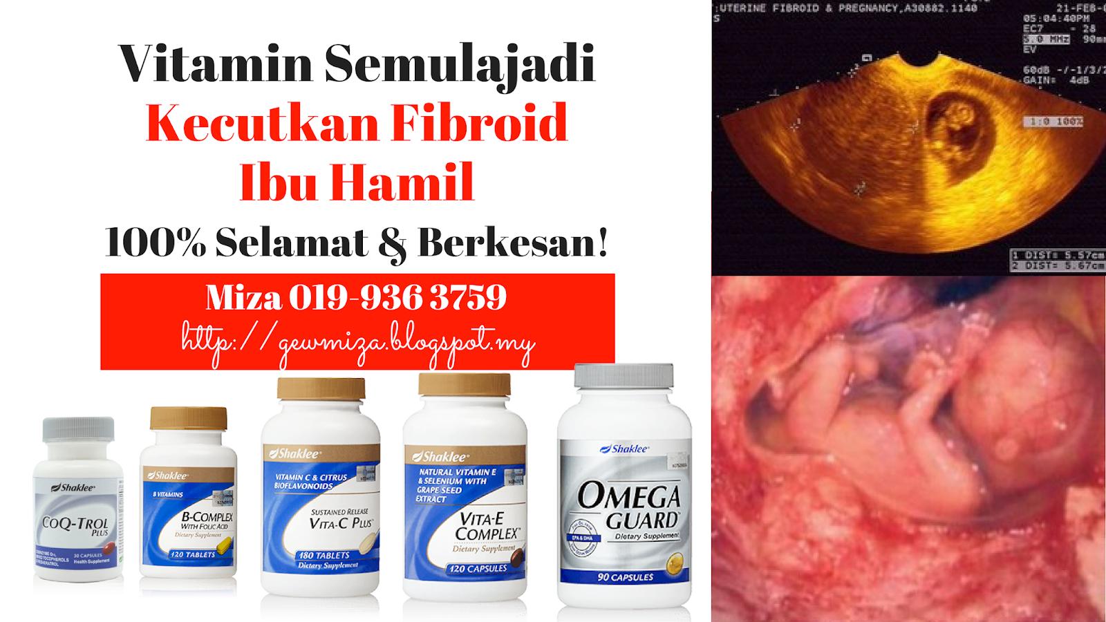 produk untuk kecutkan fibroid ibu hamil secara semulajadi