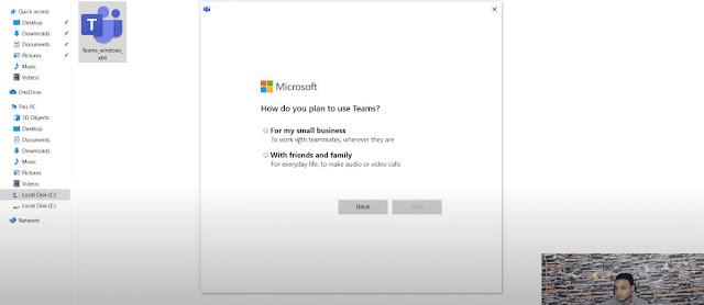 تحميل مايكروسوفت تيمز علي الكمبيوتر مجانا