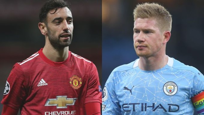 MANCHESTER DERBY!! Bruno Fernandes VS Kevin De Bruyne – Who IS A Better Player?