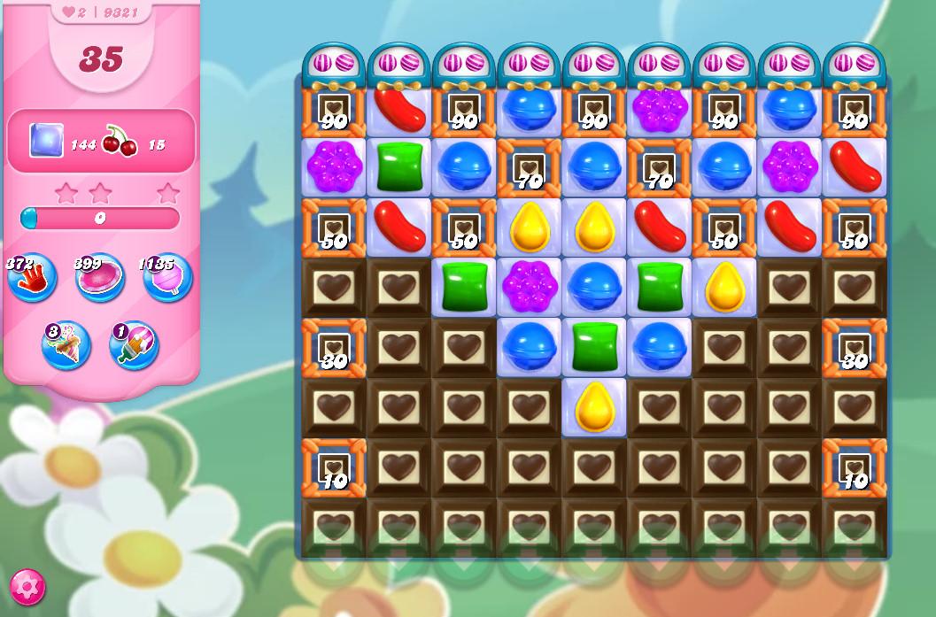 Candy Crush Saga level 9321