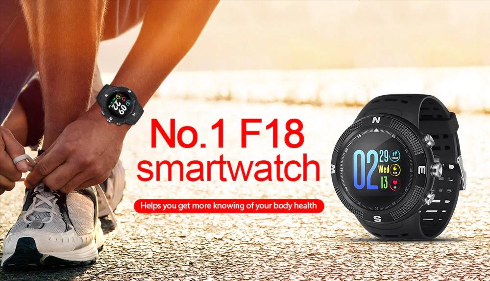 سعر رخيص و خدمات كثيرة... تعرف على الساعة الذكية NO.1 F18