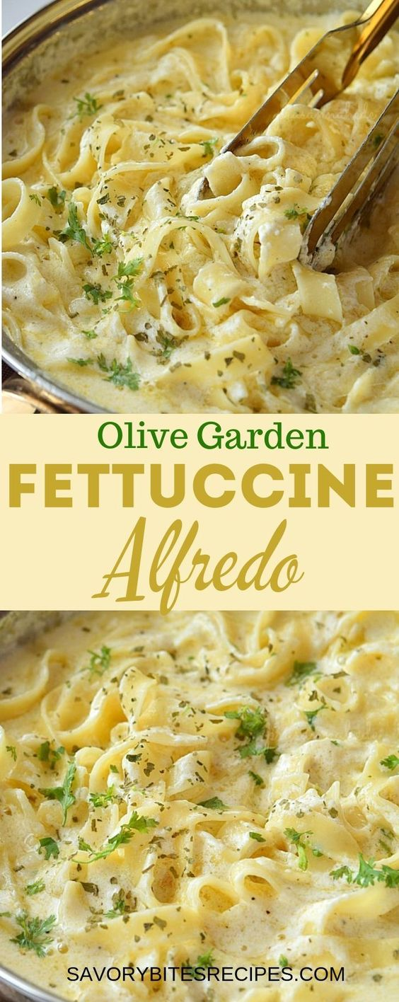 The Best and Easy Fettuccine Alfredo