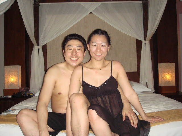 Korean wife's honeymoon nude photos leaked (23pix)