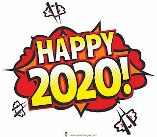 ستيكرز راس السنة الجديدة 2020