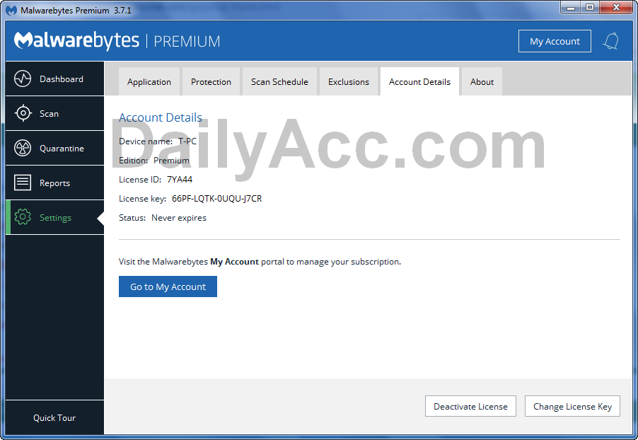 x41 Malwarebytes.com Premium LIFETIME Keys March 08, 2019