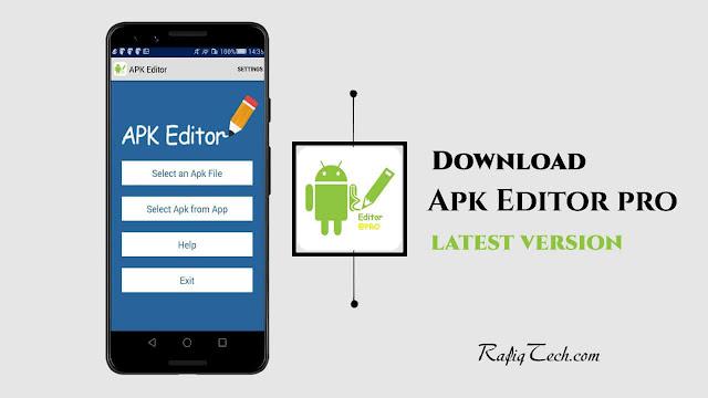 تحميل تطبيق APK Editor Pro- أحدث إصدار للأندرويد