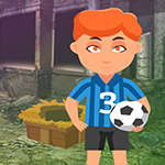 Play Games4King Expert Soccer Player Escape