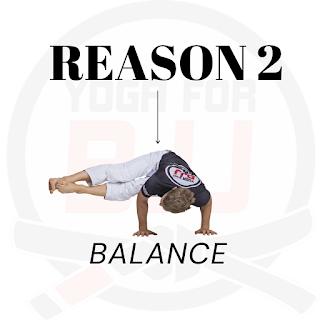 Balance improves your BJJ
