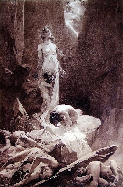 Альфонс Муха - Отче наш (3). 1899