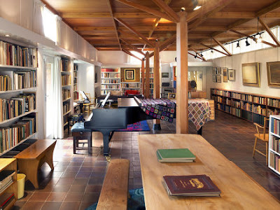 The Library at the Red House - photo Philip Vile