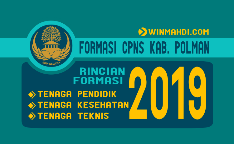 Formasi CPNS Kab. Polewali Mandar 2019