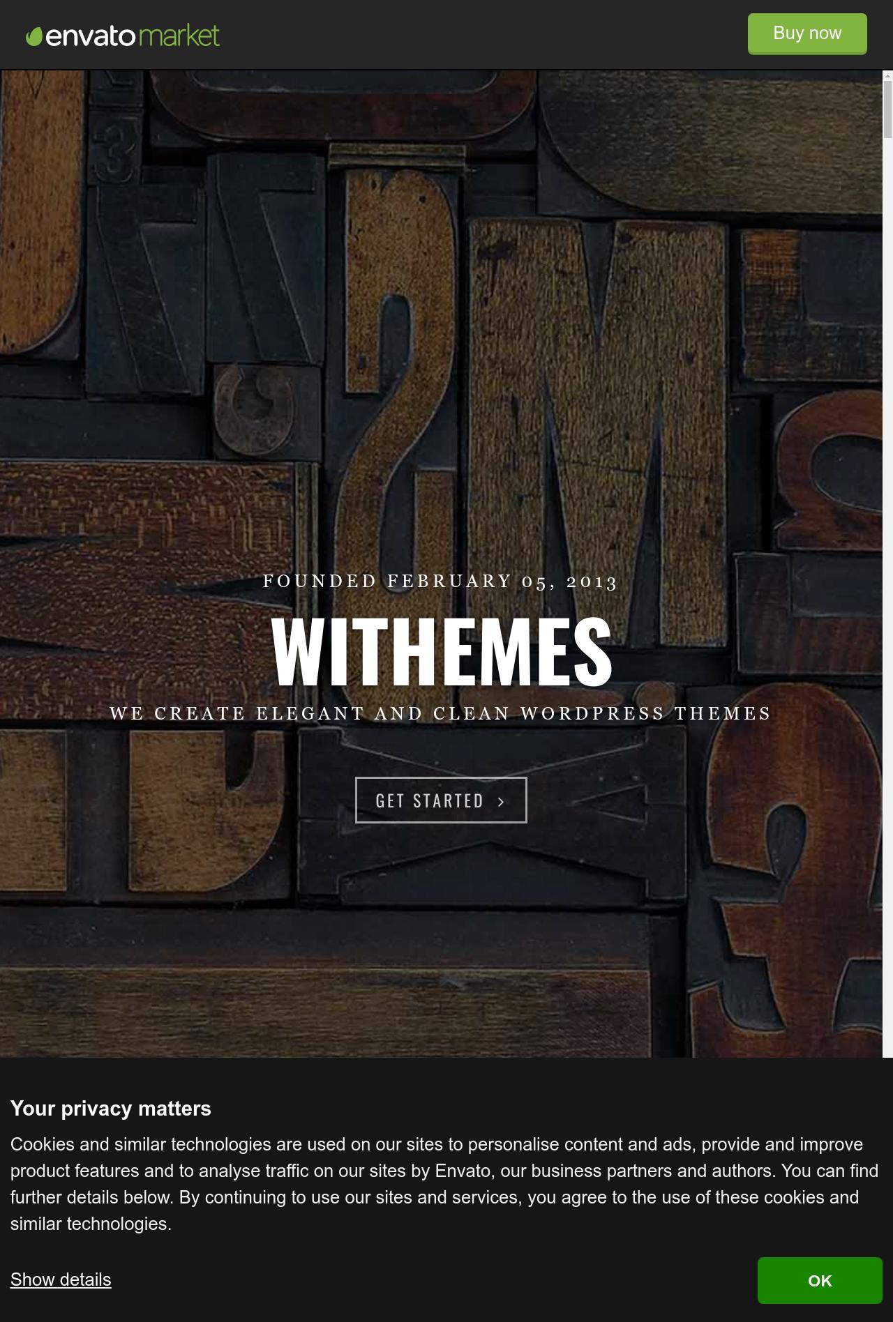 Norris  Elegant Onepage Wordpress Theme
