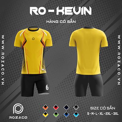 Áo Không Logo Rozaco RO-KEVIN Màu Vàng