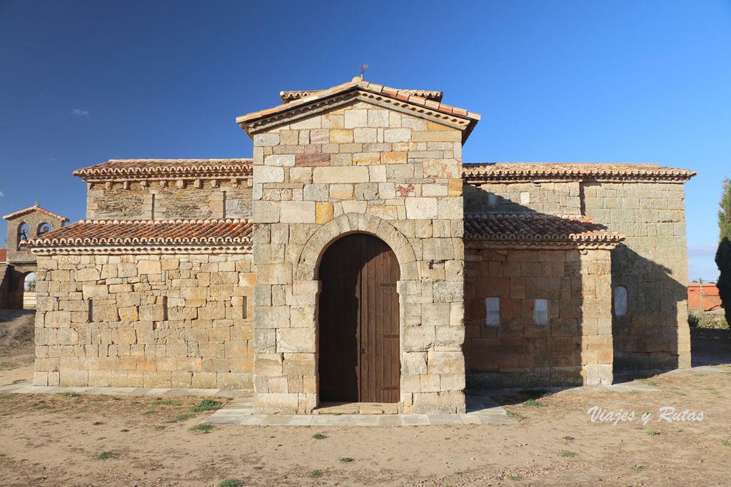 San Pedro de la Nave vista exterior