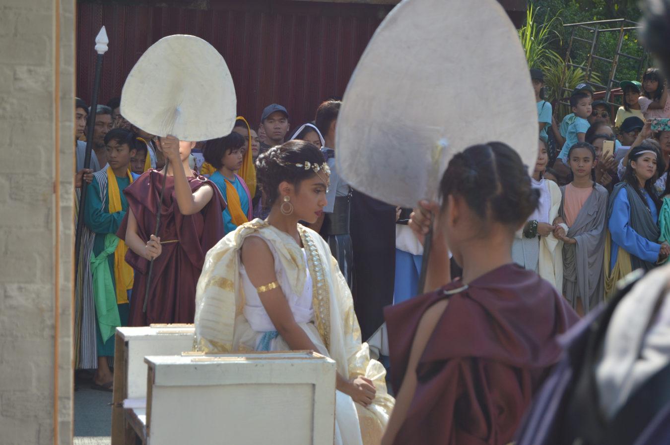 San Ildefonso Catholic Reenactment
