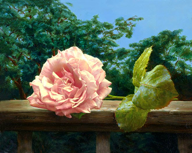 16 Realistic and Most Amazing Rose Paintings For Your ...