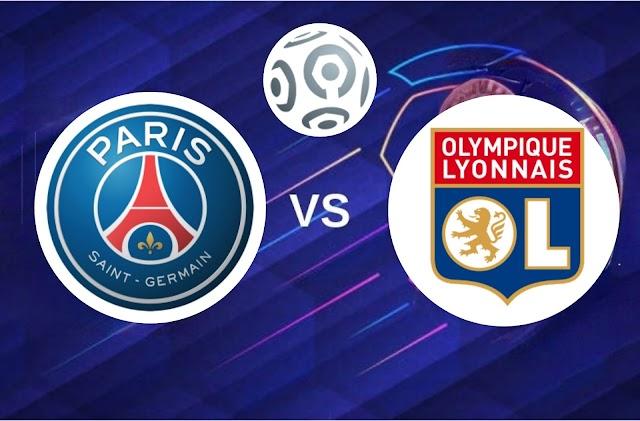 PSG vs Olympique Lyonnais Canlı - Live