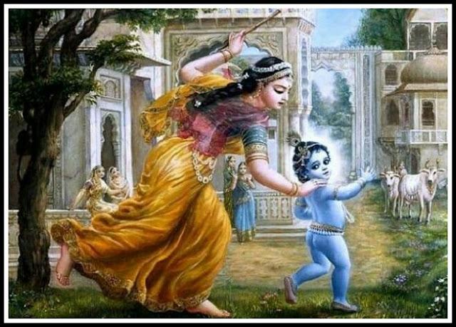 krishna yasoda images
