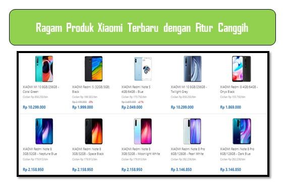 Ragam Produk Xiaomi Terbaru dengan Fitur Canggih