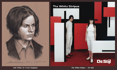 Jack White. Singer-Songwriter and Producer. The White Stripes. De Stijl. by Travis Simpkins