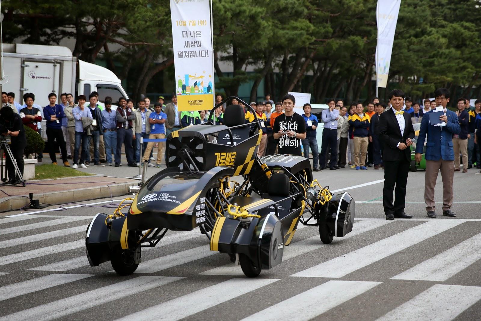 Kendaraan Masa Depan Dari Korea Ini Bener Bener Unik Dan Lucu