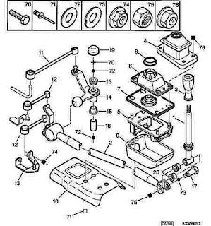 Garage 206 mecânica e elétrica: Bieleta do trambulador