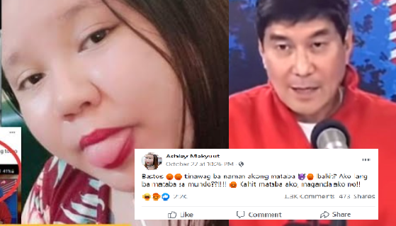 Tinawag na bastos si Idol Raffy Tulfo ni Ashley, kapatid ni Michelle Bana-ag sa kanyang post